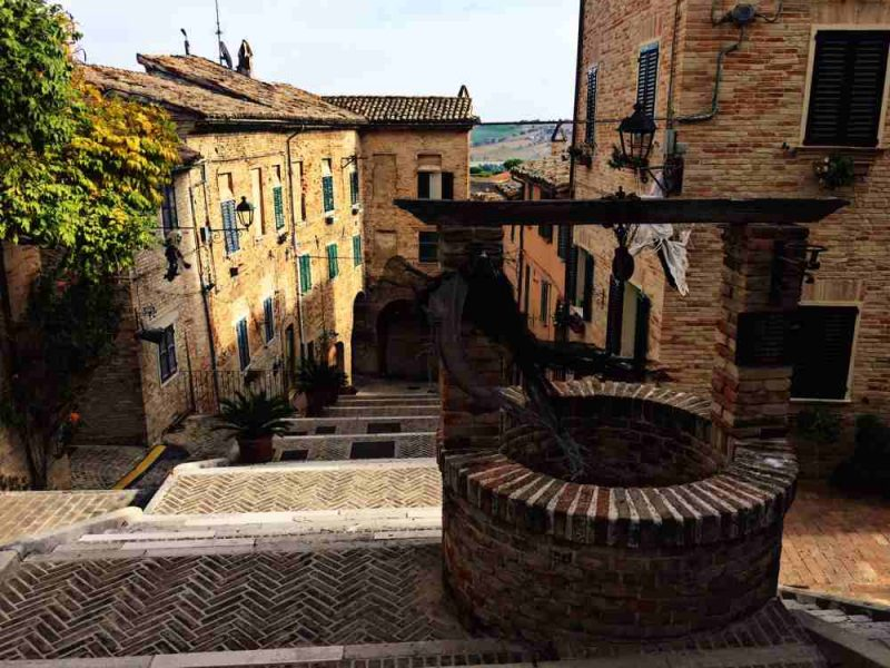 places to visit le marche corinaldo