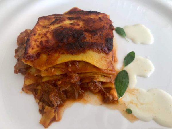 Marche Italy food vincisgrassi