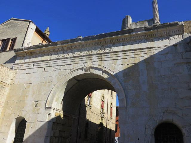 fano italy arch of augustus