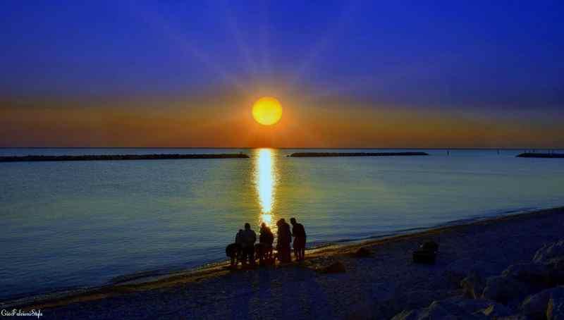 fano italy beach