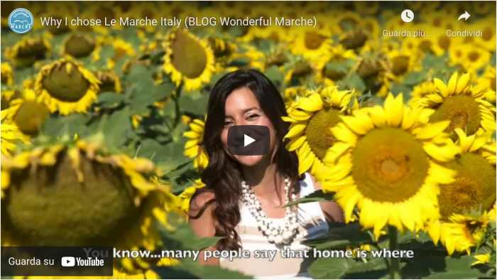 marche italy video