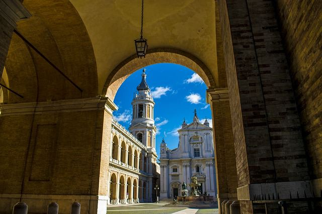 he basilica of loreto marche