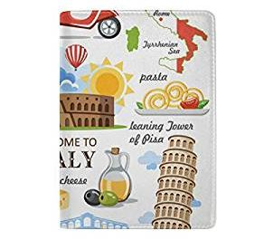 italy passport cover