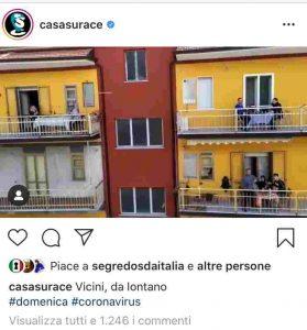 italians balcony coronavirus