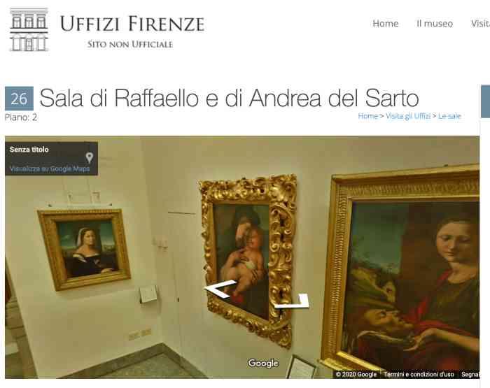 virtual tour museum italy
