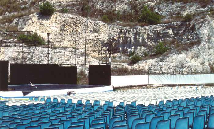 Teatro alle Cave Sirolo italy