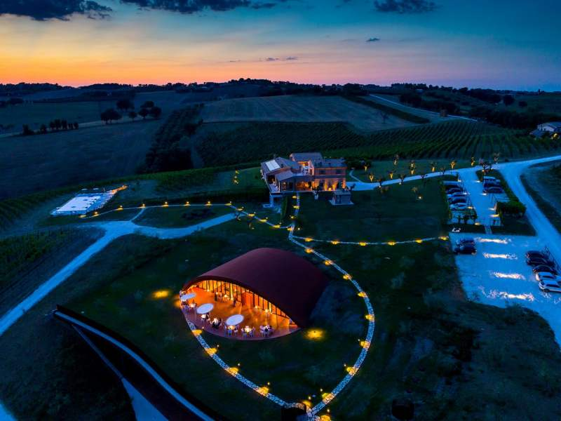 filodivino wine resort winery marche
