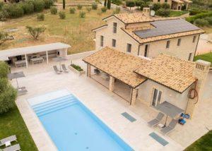 Villa with pool marche monterubbiano 2