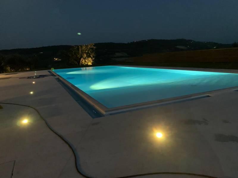 pool villa monterubbiano marche